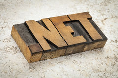 Dot net internet domain Royalty Free Stock Photos