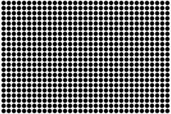 Dot octagon pattern background design illustration vector.  Royalty Free Stock Photography