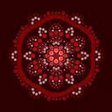 Dot painting meets mandalas 18-1 royalty free illustration
