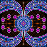 Dot painting meets mandalas 4 Stock Images