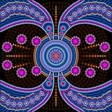 Dot painting meets mandalas 4 Stock Images