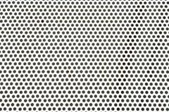 Dot Pattern Background. Metal aluminum Dot pattern background Stock Photo
