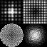 Dot Pattern black Royalty Free Stock Image