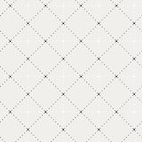 Dot pattern. Black-white dot pattern including seamless sample in swatch panel Stock Photography