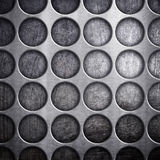 Dot pattern metal background Royalty Free Stock Photography