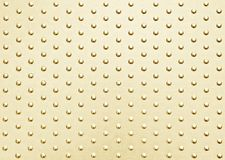 Dot pattern metal background Royalty Free Stock Image