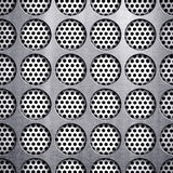 Dot pattern metal background Royalty Free Stock Photos