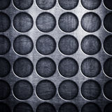 Dot pattern metal background Stock Photo