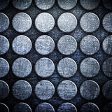 Dot pattern metal background Stock Photos