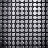 Dot pattern metal background Stock Image