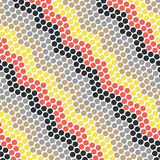 Dot pattern. Techno color Dot pattern Design Stock Photography