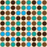 Dot Seamless-patroon Stock Foto