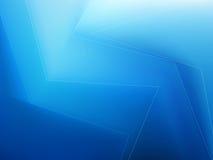 Dot Swirl Background azul abstracto Stock de ilustración