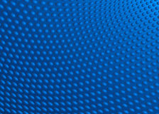 Dot Swirl Background Illustration blu astratto Fotografia Stock