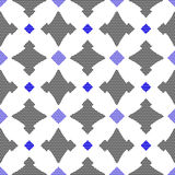 Dot textured pattern with gay and blue Stock Photography