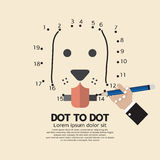 Dot to Dot Animal Games Royalty Free Stock Photography
