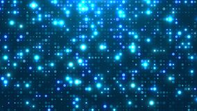 Free Dot  White Blue Pattern Screen Led Light Gradient Texture Background. Royalty Free Stock Image - 188887876