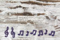dotaci instrumentów musical zauważa sztuka Obraz Royalty Free
