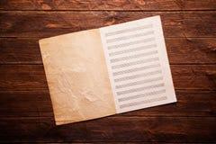 dotaci instrumentów musical zauważa sztuka Fotografia Royalty Free