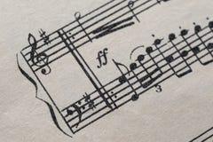 dotaci instrumentów musical zauważa sztuka Obrazy Stock