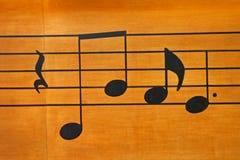 dotaci instrumentów musical zauważa sztuka Zdjęcia Royalty Free