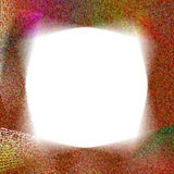 dote свирль рамки Стоковая Фотография RF