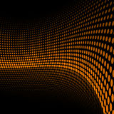 Doted background. Reflected doted background. EPS 8.0 file available Stock Images