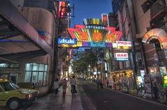 Dotonbori在大阪,日本 免版税库存图片