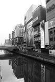 Dotonbori canal Royalty Free Stock Photo