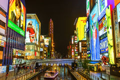 Dotonbori in Osaka Royalty Free Stock Image