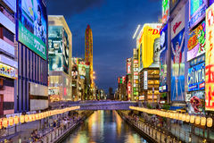 Dotonbori of Osaka Royalty Free Stock Photo