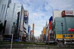 Dotonbori in Osaka, Japan. Billboard advertising at Dotonbori on July 7, 2015 in Osaka, Japan Royalty Free Stock Photos