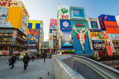 DOTONBORI OSAKA, JAPAN Royalty Free Stock Photo