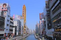 Dotonbori Osaka Japan. Dotonbori entertainment district Osaka Japan Royalty Free Stock Photography