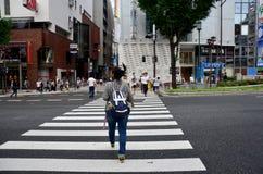 Dotonbori in Osaka, Japan Royalty Free Stock Images