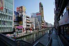 Dotonbori river, Osaka, Japan Stock Photo