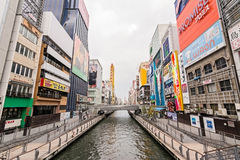 Dotonbori scenery Royalty Free Stock Photos