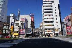 Dotonborigebied, Osaka, Japan Stock Foto's