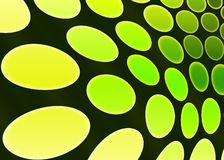 Dots. Background with yellow and green dots Stock Image