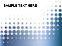 Dots. Sample Text Here - dots background Stock Illustration