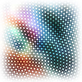Dots abstract background. Royalty Free Stock Photography