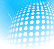 Dots abstract blue Royalty Free Stock Image