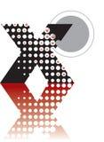 Dots abstract zen alphabets Stock Photos