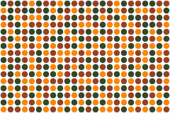 Dots, autumn colors stock photo
