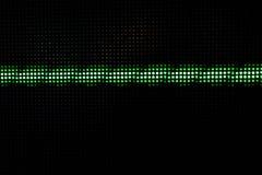 Dots Background brillante verde, concetto della rete Fotografie Stock Libere da Diritti