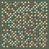 Dots background Stock Image