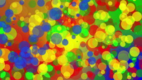 Dots Background Loop colorato video d archivio