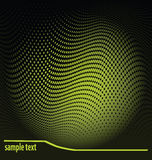 Dots background with sample text Stock Photography