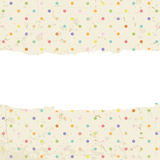 Dots background with space for text. Vector illustration Royalty Free Stock Photo