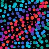 Dots Background Vermelho-Cor-de-rosa-Roxo-azul Fotos de Stock Royalty Free